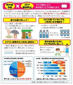 熱中症対策とコロナ対策の両輪